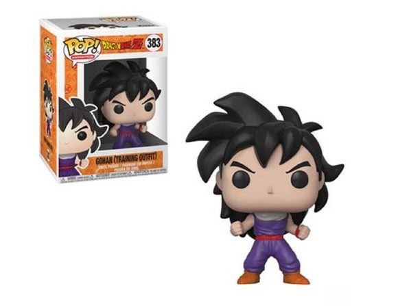 Funko Pop! Animation Dragon Ball Z Gohan (Training Outfit) Vinyl Figure #383 - Product Image