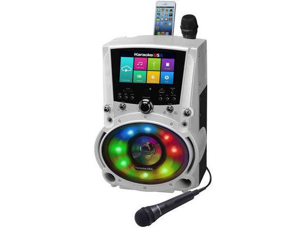 Karaoke USA WK760 All-In-One Wi-Fi Karaoke Machine with 7 inch Screen - Product Image