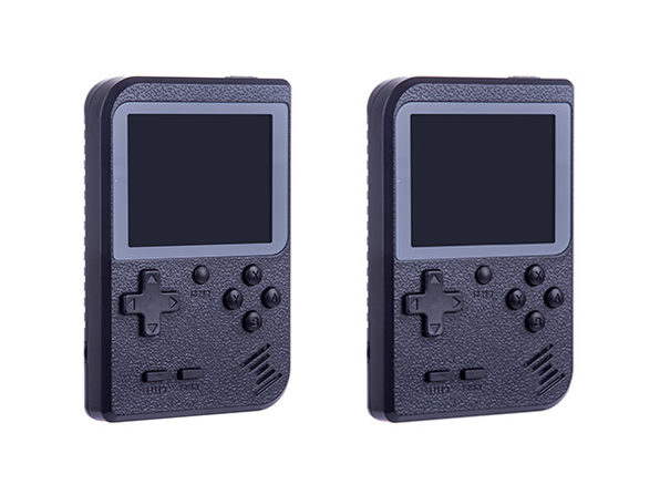 GameBud Portable Gaming Console: 2-Pack (Black)