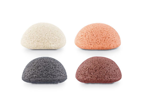 Konjac Sponges: 4-Pack