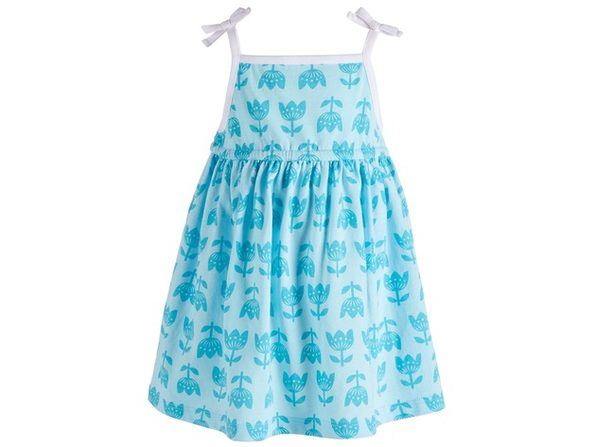 First Impressions Baby Girls Printed Sundress Blue Size 12 Months