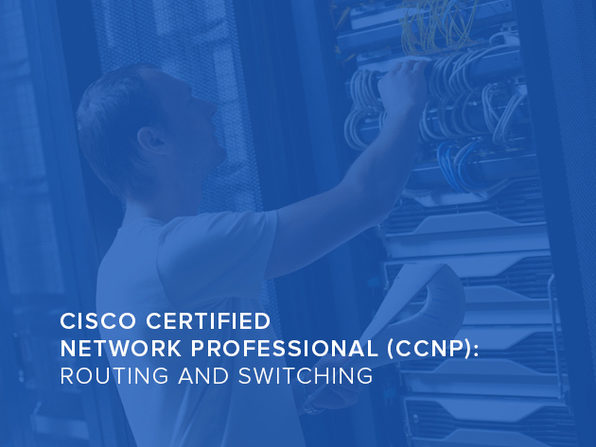 Cisco Certified Network Professional (CCNP) Routing And Switching - Product Image