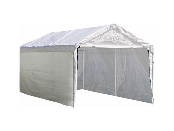 ShelterLogic Super Max 12'x20' Canopy Enclosure Kit,Canopy and Frame (Distressed Box, New)