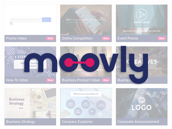 Moovly Video Maker Pro Plan: 1-Yr Subscription