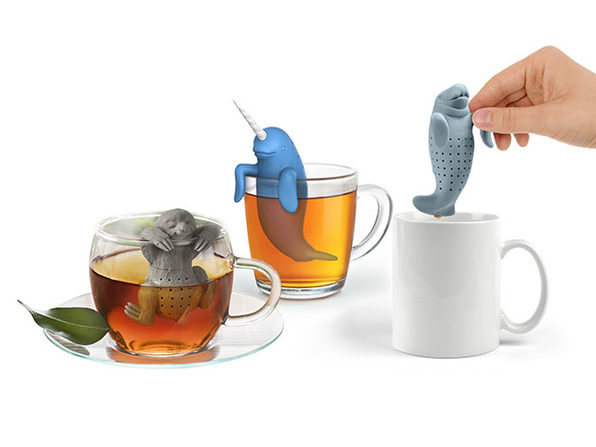 Animal Tea Infuser: 3-Pack