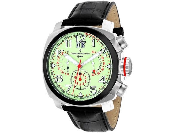 Christian Van Sant Men's Grand Python Luminous Dial Watch - CV3AU7