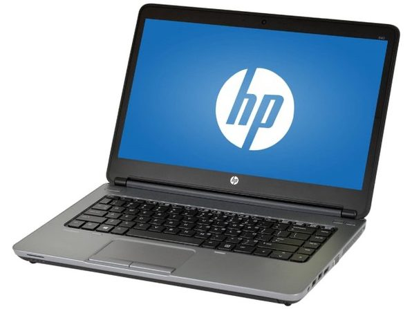 "HP Probook 640G1 14"" Laptop, 2.5 GHz Intel i5 Dual Core, 8GB RAM, 500GB SATA HD, Windows 10 Professional 64 Bit (Renewed)"