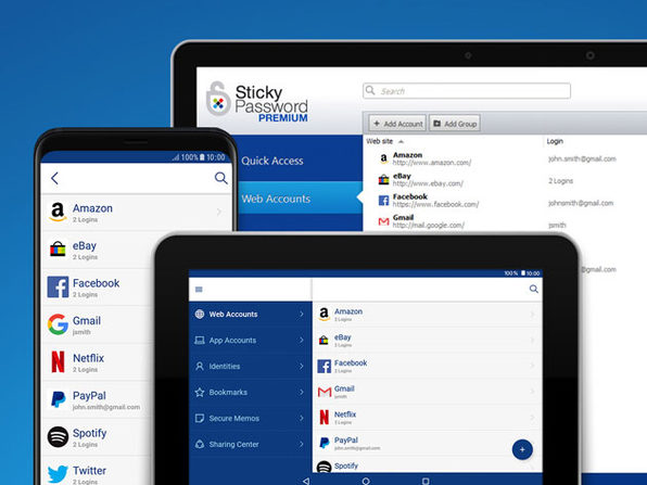 Sticky Password Premium: 5-Yr Team Subscription
