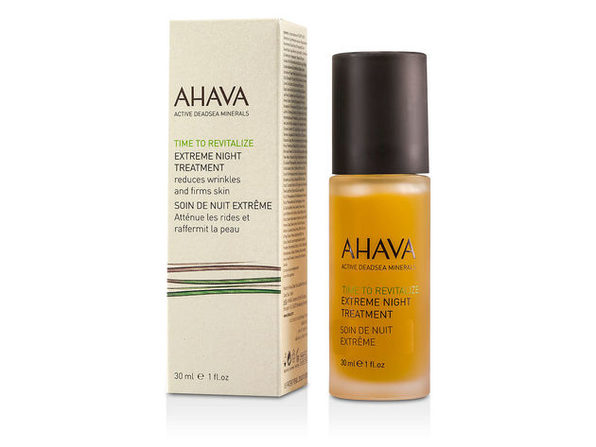 Ahava by Ahava Time To Revitalize Extreme Night Treatment --30ml/1oz for WOMEN ---(Package Of 6) - Product Image