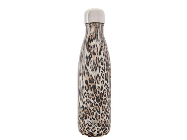 S'well 'Khaki Cheetah' Water Bottle (17oz)