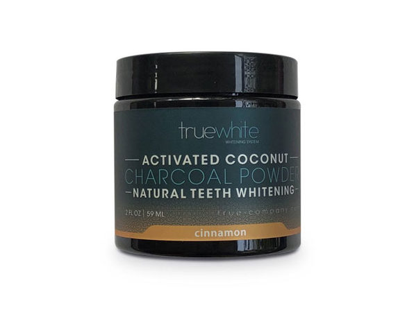 truewhite Teeth Whitening Charcoal Powder, Cinnamon Flavor, 2 oz