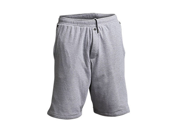 DudeRobe Shorts: Men's Luxury Towel-Lined Shorts (Gray, S/M)