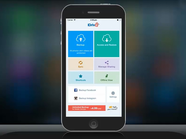 IDrive Unlimited Mobile Backup: Lifetime Subscription | Cult of Mac Deals