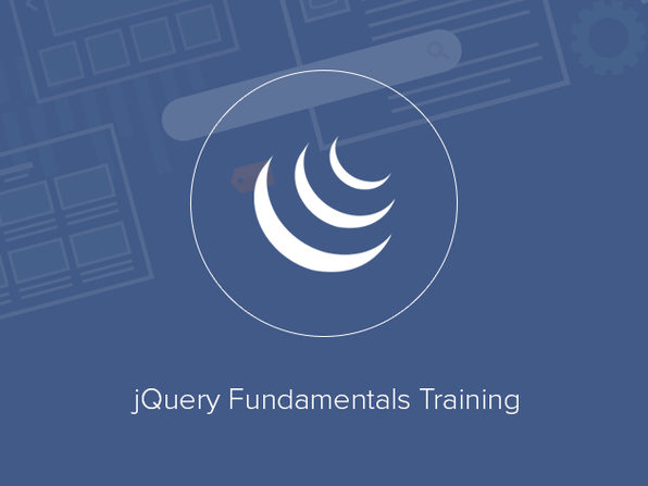 jQuery Fundamentals Training - Product Image