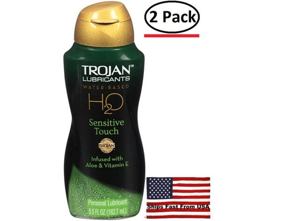 ( 2 Pack ) Trojan H2O Sensitive Touch 5.5 Oz - Product Image