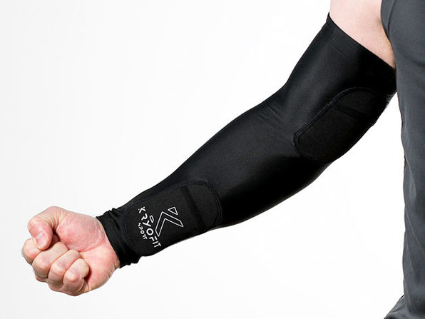 Dual Compression Full Arm Sleeves with Freeze Packs