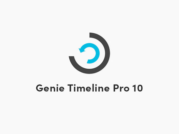 Genie Timeline Pro 10 Backup Software: Lifetime Subscription (5-Devices)