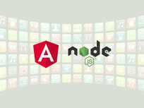 Learn To Build Apps Using NodeJS and Angular - Product Image