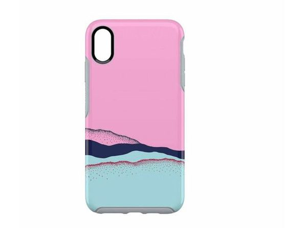 Otterbox Symmetry Series Case for iPhone Xs Max, Gives Maximum Protection and Shields Against Drops, Large, Pink (New Open Box) - Product Image