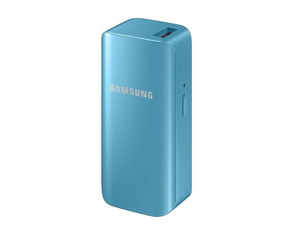 Samsung 2100mAh Mini Universal Battery Pack - Blue
