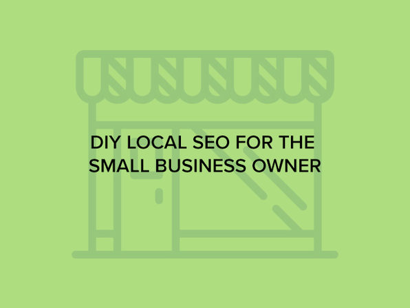 DIY Local SEO for the Small Business Owner - Product Image