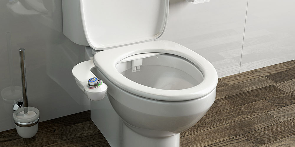 SlimGlow: The World's First Bidet Attachment with a Night Light, on sale for $49.99 (36% off)