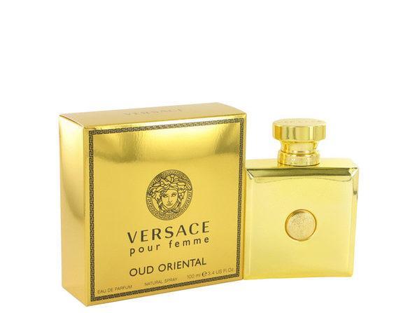 Versace Oud Oriental by Versace Eau De Parfum Spray 3.4 oz Great price and 100% authentic - Product Image