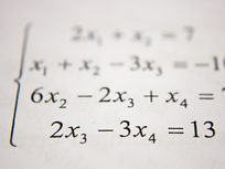 Equations and Mathematical Expressions in Algebra - Product Image