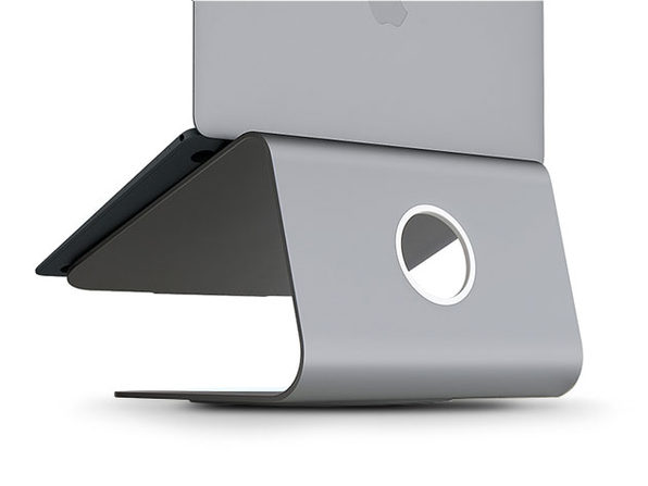 mStand360 Laptop Stand w/ Swivel Base - Space Grey - Product Image