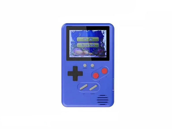 Ultra-Slim Retro Gaming Device 500 Games - Blue - Product Image