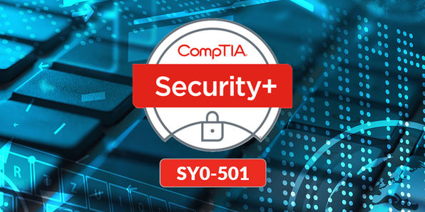 CompTIA Security+ SY0-501 Exam Prep - Product Image