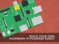 PiBot: Build Your Own Raspberry Pi-Powered Robot - Product Image