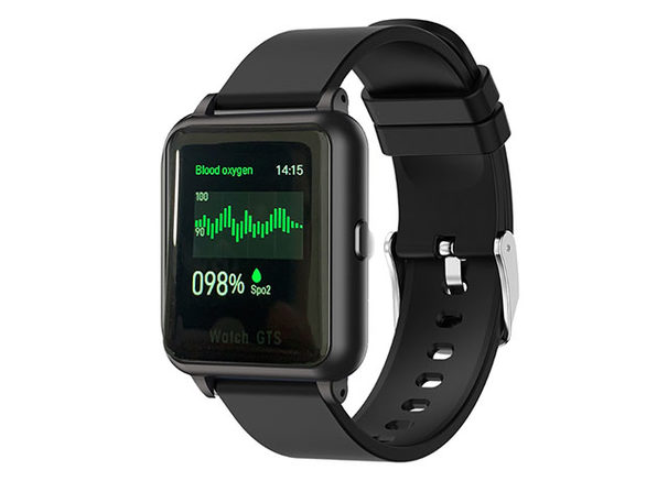 OXITEMP Smart Watch with Live Oximeter