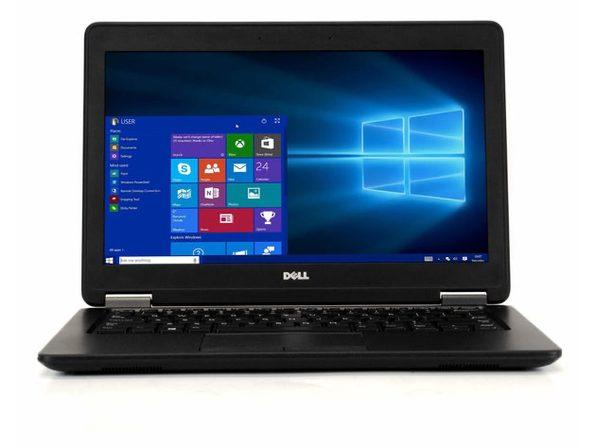 "Dell Latitude E7250 12"" Laptop, 2.9 GHz Intel i7 Dual Core Gen 5, 8GB RAM, 256GB SSD, Windows 10 Professional 64 Bit (Refurbished Grade B)"