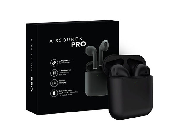 AirSounds Pro True Wireless Earbuds (Black)