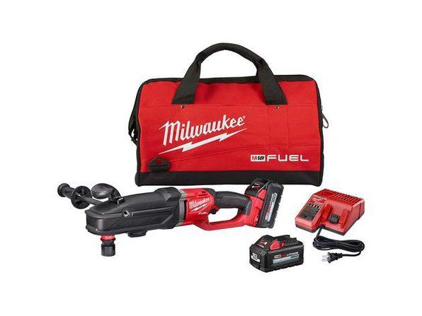 Milwaukee 2811-22 M18™ Fuel Super Hawg Right Angle Drill w/ QUIK-LOK Kit