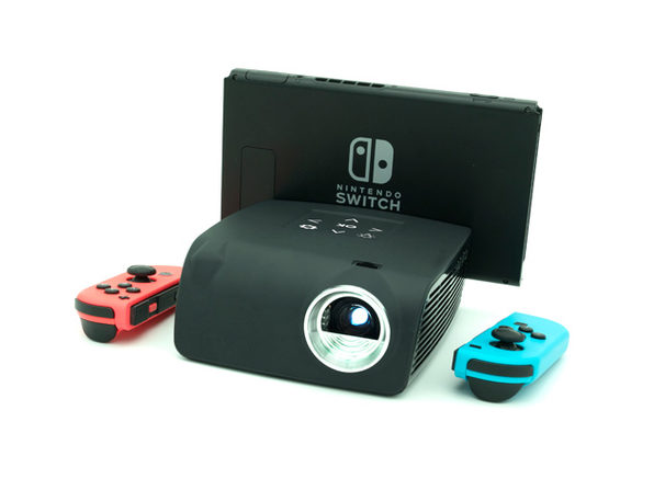 AAXA S1 Mini Projector for Nintendo Switch