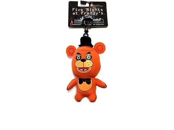 "Five Nights At Freddy's Freddy Fazbear 5"" Plush Clip Keychain"