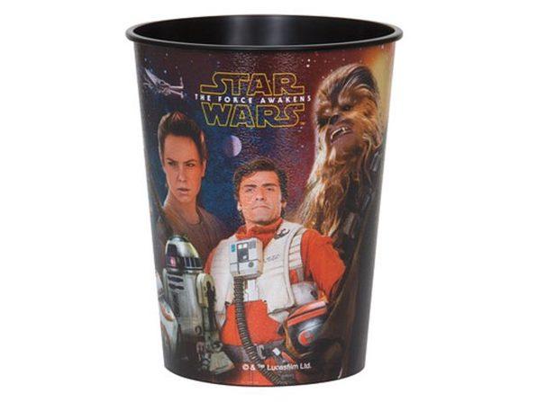 12X Star Wars Force Awakens Plastic 16 Ounce Reusable Keepsake Favor Cup 12 Cups