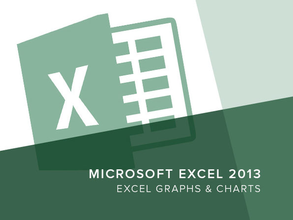 Excel 2013 - Excel Graphs and Charts - Product Image