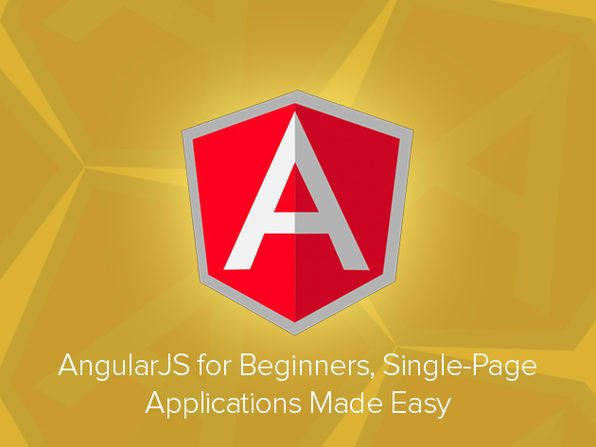 AngularJS for Beginners: Single-Page Applications Made Easy - Product Image