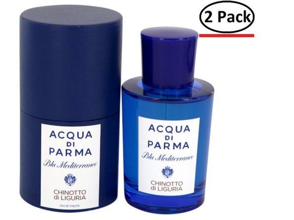 Blu Mediterraneo Chinotto Di Liguria by Acqua Di Parma Eau De Toilette Spray (Unisex) 2.5 oz for Women (Package of 2) - Product Image