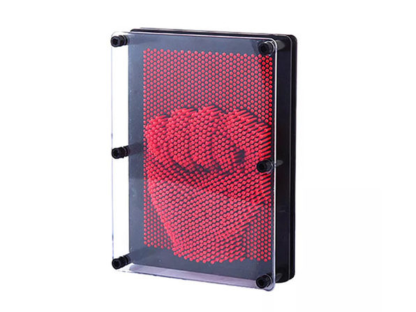 Pin Point Impression 3D Sculpture Frame Red - Product Image