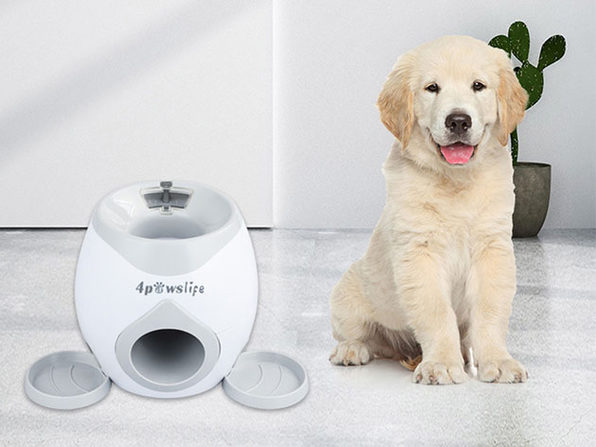Automatic Ball Launcher & Dog Feeder