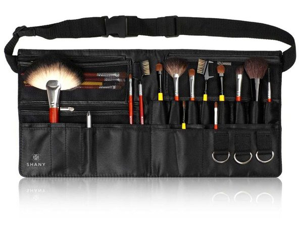 SHANY Professional Makeup Apron - Makeup Artist Brush Belt - PINK