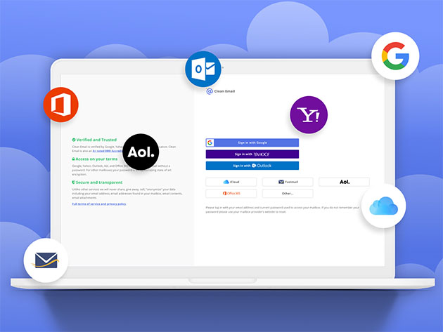 Stack Social Deal for Clean Email: Lifetime Subscription