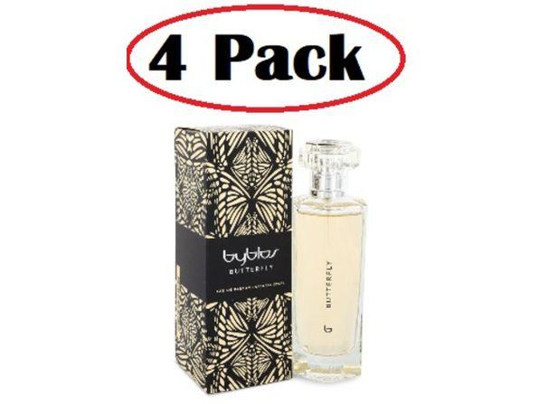 4 Pack of Byblos Butterfly by Byblos Eau De Parfum Spray 3.4 oz - Product Image