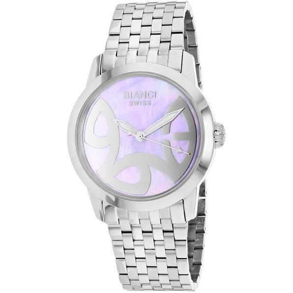 Roberto Bianci Women's Amadeus Pink MOP Dial Watch - RB18580