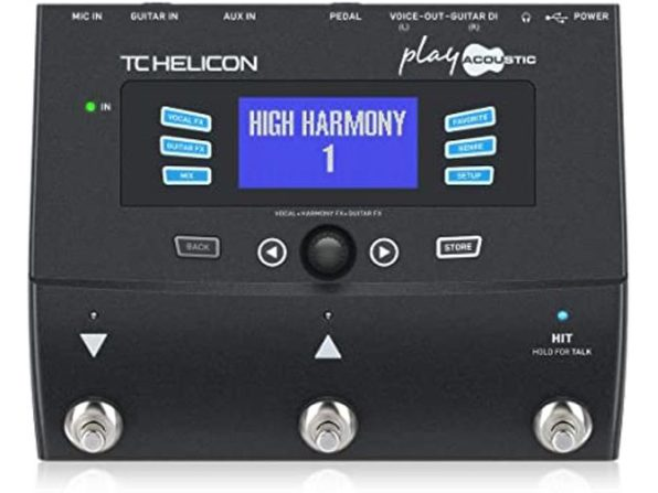 TC Electronic 996364005 Helicon Play Acoustic Vocal Effects Processor - Black (Like New, Damaged Retail Box)
