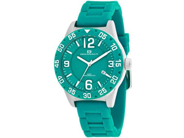 Oceanaut Women's Aqua One Green Dial Watch - OC2813 - Product Image